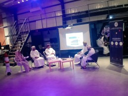 Panel discussion of space sector